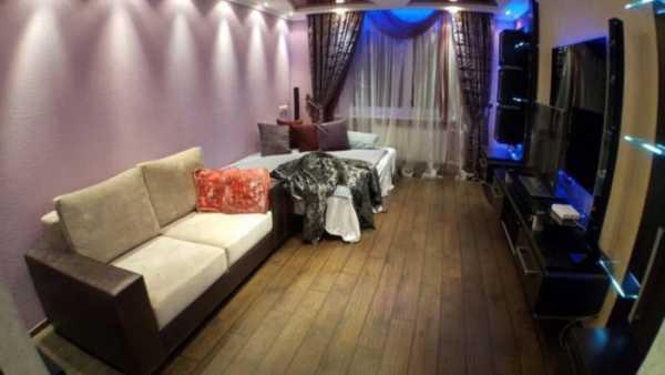 Дизайн однокомнатной квартиры 35 кв. м. — (120 фото)