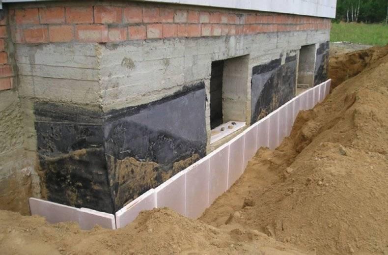 Нужно ли утепление фундамента в доме без подвала