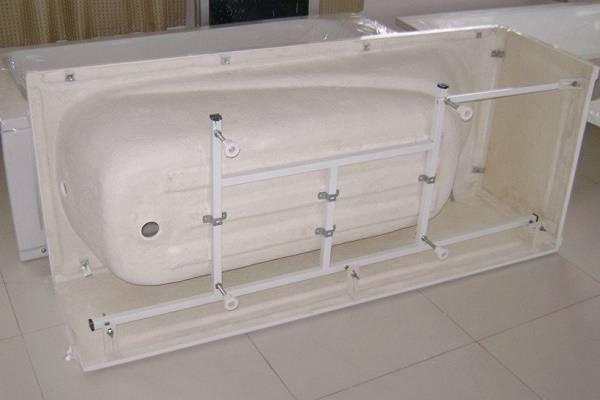 Установка акриловой ванны своими руками: монтажное руководство и лучшие схемы