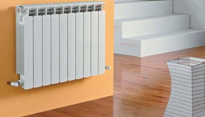 Количество секций биметаллических радиаторов отопления: формулы, расчетные методы для квартир разного вида