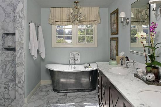Ванная в стиле прованс, или очаровательный шарм французского стиля