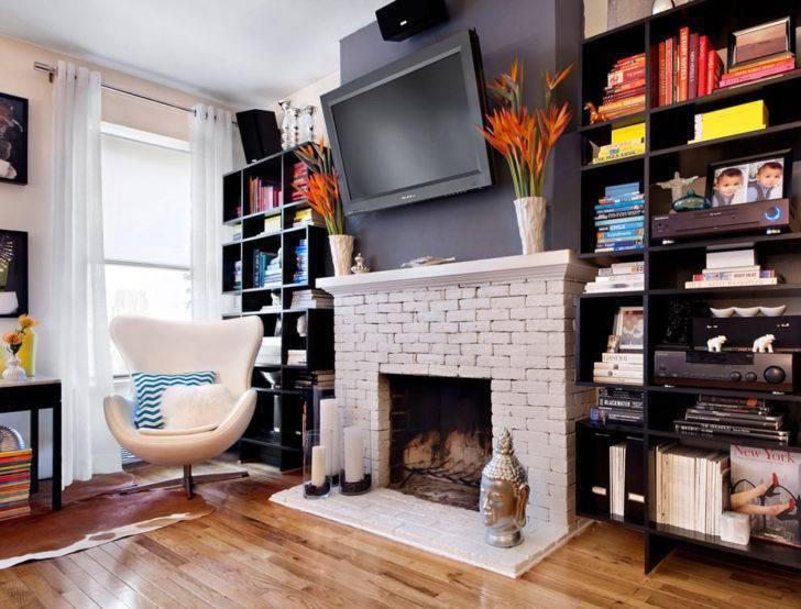 Оформление камина (66 фото): как оформить и украсить камин в квартире, виды украшений в современном стиле