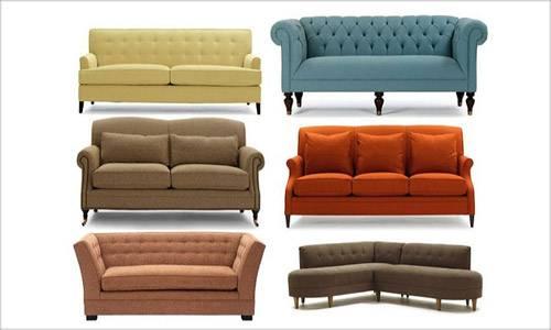 Виды диванов - классификация и характеристики