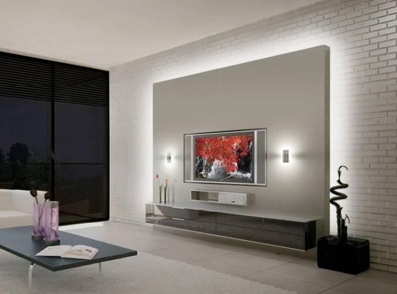 Светодиодная подсветка в интерьере, варианты, фото