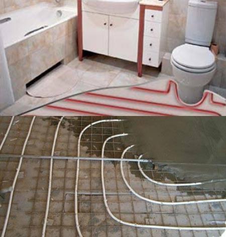 Как сделать теплый пол в ванной комнате: пошаговое руководство