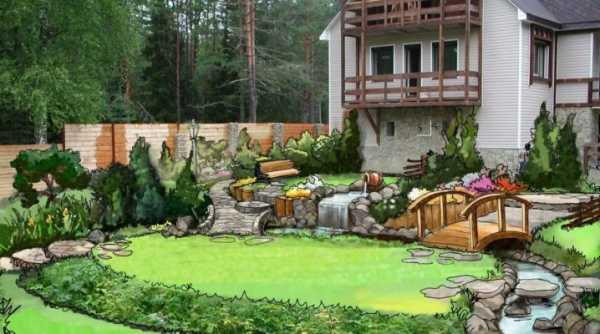 Большие идеи для ландшафтного дизайна маленького участка