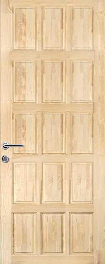 Положительные и отрицательные стороны дверей из массива