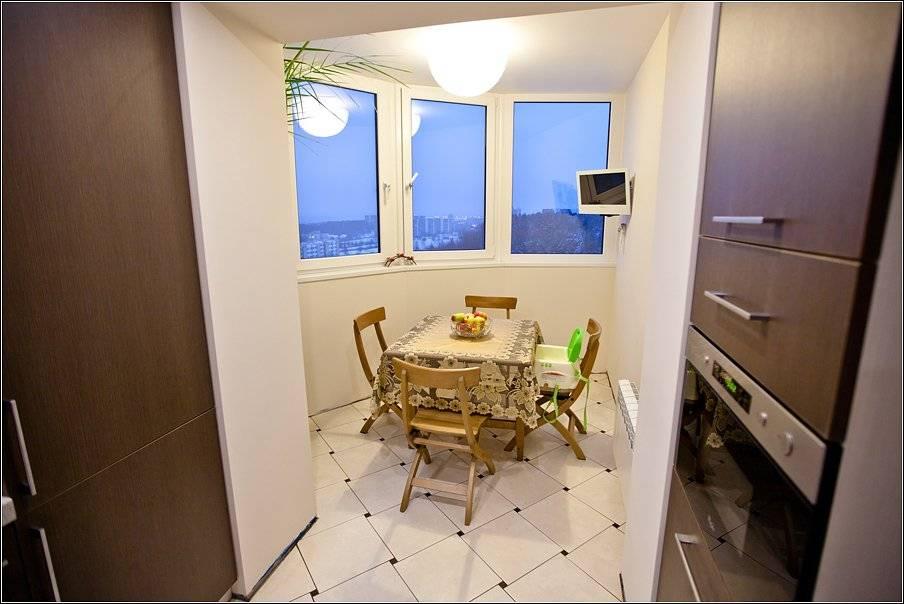 Комната на балконе — примеры обустройства, фото