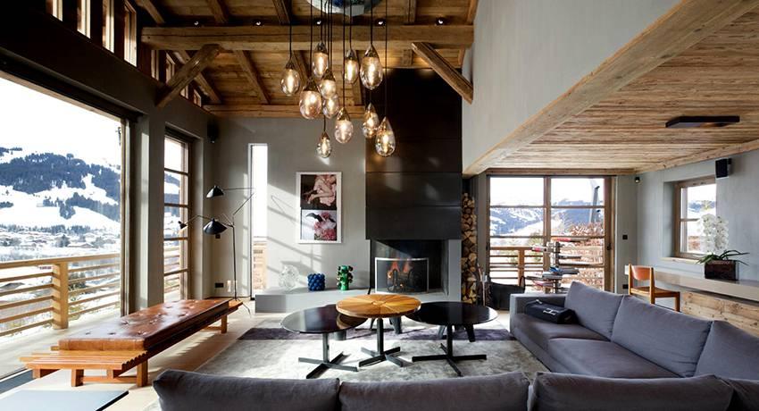 Альпийское шале — оригинальный интерьер, который нравится всем!