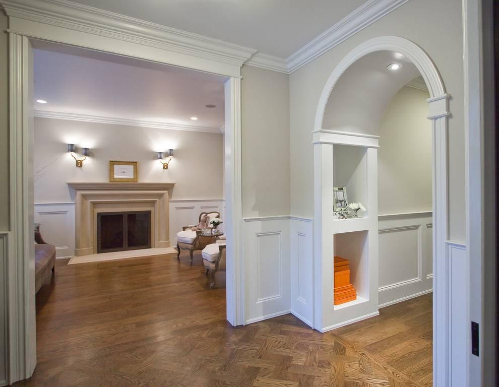 Арка на кухню вместо двери - 42 фото вариантов дизайна