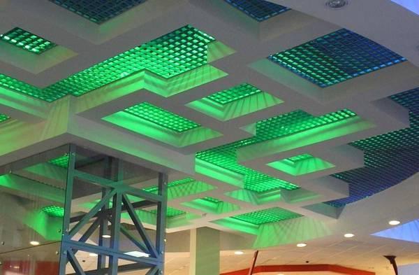 Плиты для растрового потолка, особенности и установка