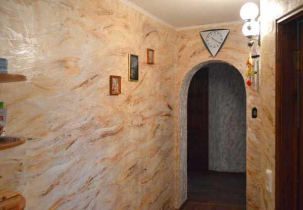 Как наносить декоративную мраморную штукатурку на стены: особенности, состав