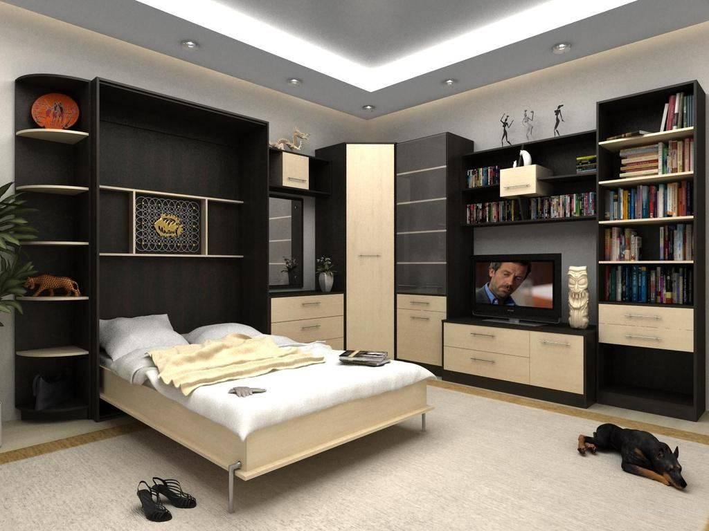 Функционал и особенности кроватей-трансформеров для малогабаритных квартир