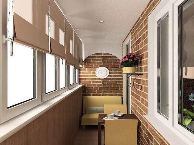 Как сделать потолок на балконе: варианты отделки + инструкции