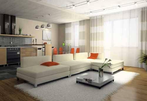 Как зрительно увеличить комнату маленьких размеров