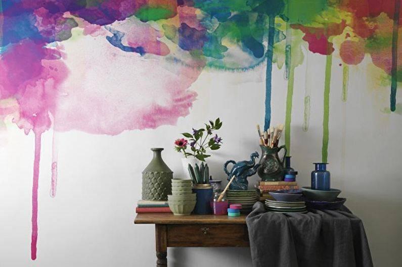 Как украсить стену комнаты своими руками