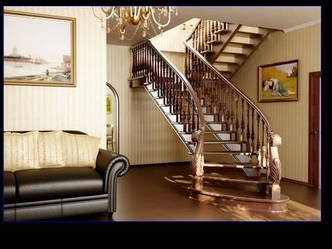 Лестницы в интерьере - 115 фото интерьеров
