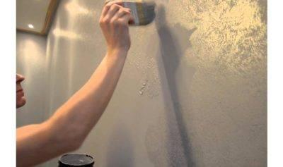Фактурная покраска стен или фактурная штукатурка