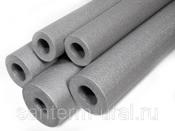 Вспененный полиэтилен: основные характеристики утеплителя для труб из качественного материала