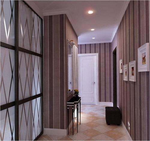 Какими должны быть обои в коридоре: советы и полезные примеры с фото