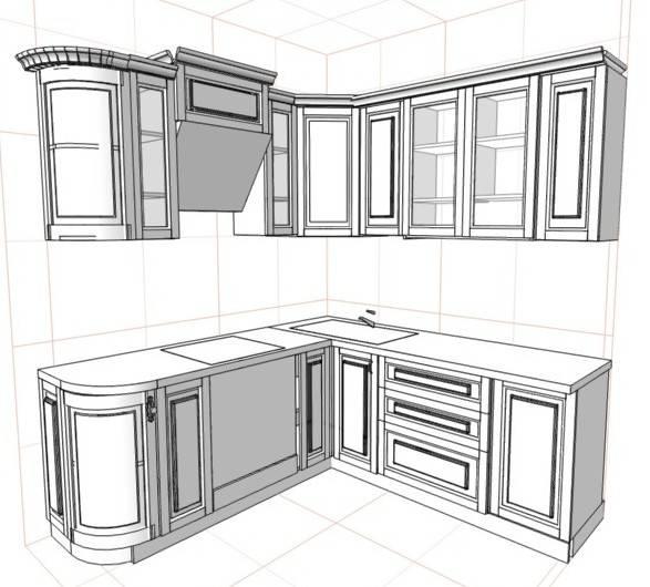 Инструкция сборки кухни