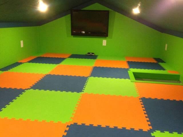 Мягкий пол для детских комнат, что лучще: ковролин, пазл эва, напольный коврик, модульное каучуковое покрытие или пробковый