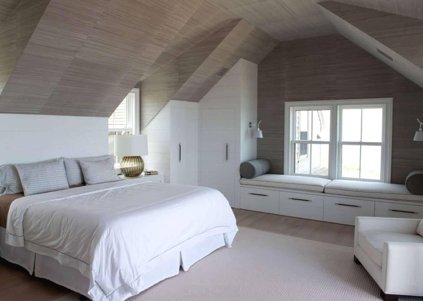 Дизайн дома с мансардой: 170+ (фото) варианты интерьера комнаты
