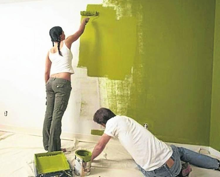 Время ремонта. обои или покраска стен, что лучше
