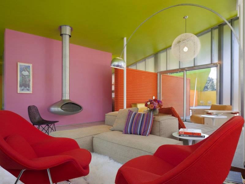 Покраска стен: 100 фото декоративного оформления стен и нюансы применения краски