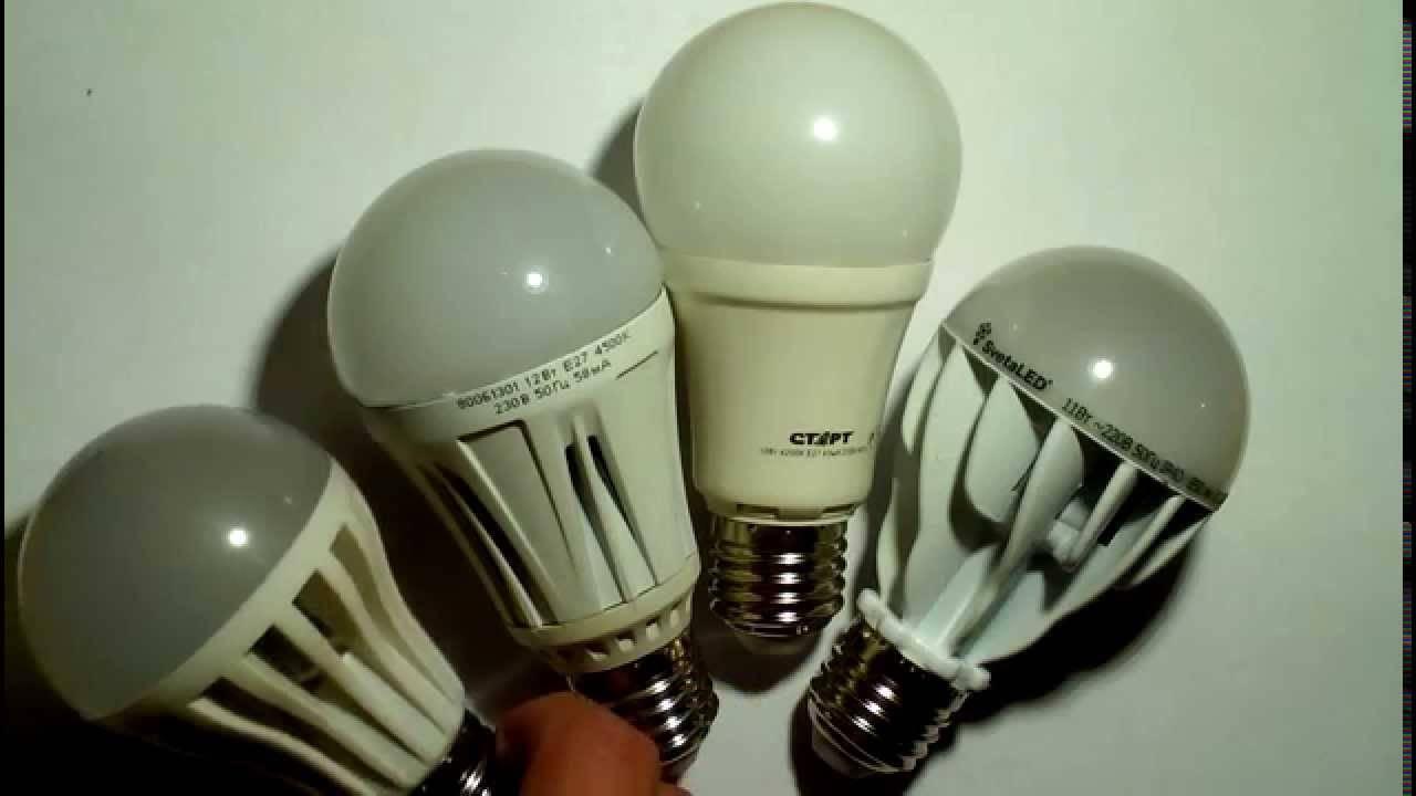 Какие лампочки лучше для дома: светодиодные или энергосберегающие