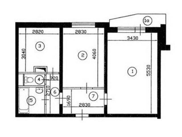 Каким должен быть дизайн интерьера квартиры «распашонки»