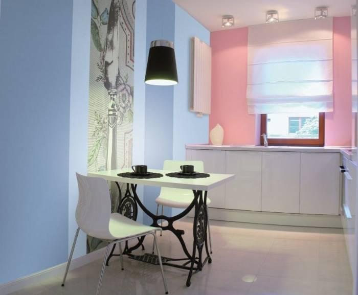 Краска стен для кухни — правильный выбор и способ нанесения