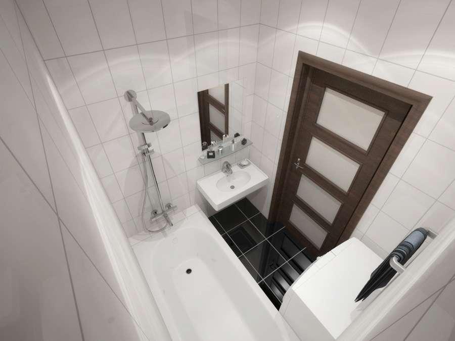 Дизайн маленькой ванной комнаты - фото и идеи в интерьере