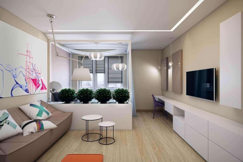 Дизайн гостиной 16 кв. м: обустройство и зонирование пространства