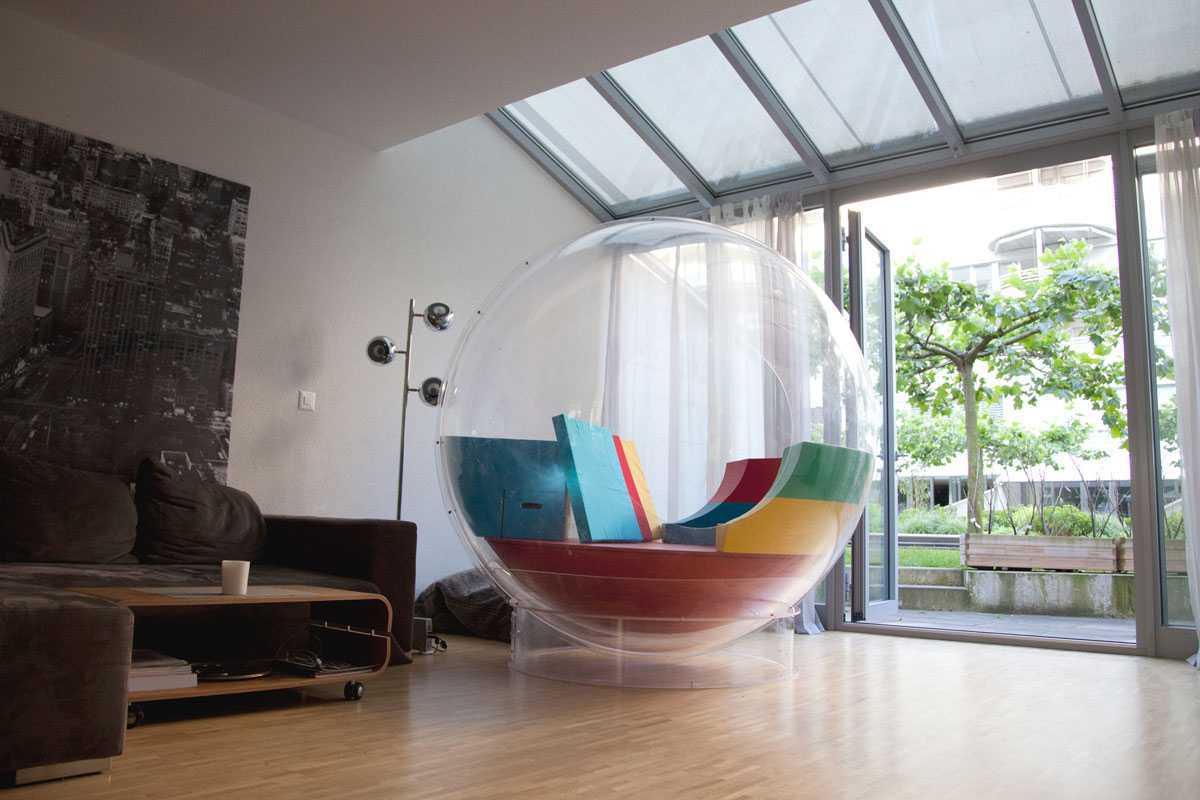 Стекло в дизайне и декоре интерьера
