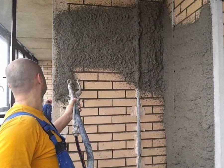 Штукатурка (выравнивание) стен по маякам. как выставить маяки под штукатурку?
