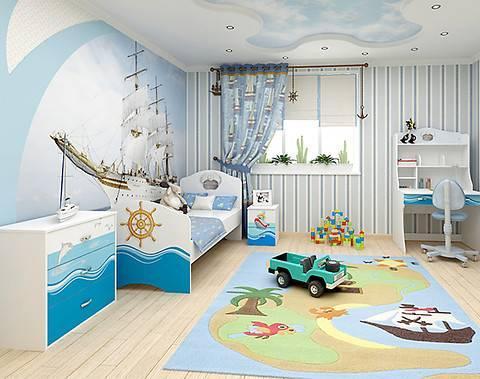 Критерии выбора текстиля для детской комнаты