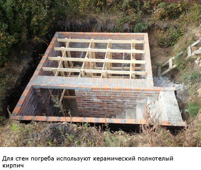 Погреб своими руками (72 фото): как сделать в частном доме, как построить при высоком уровне грунтовых вод