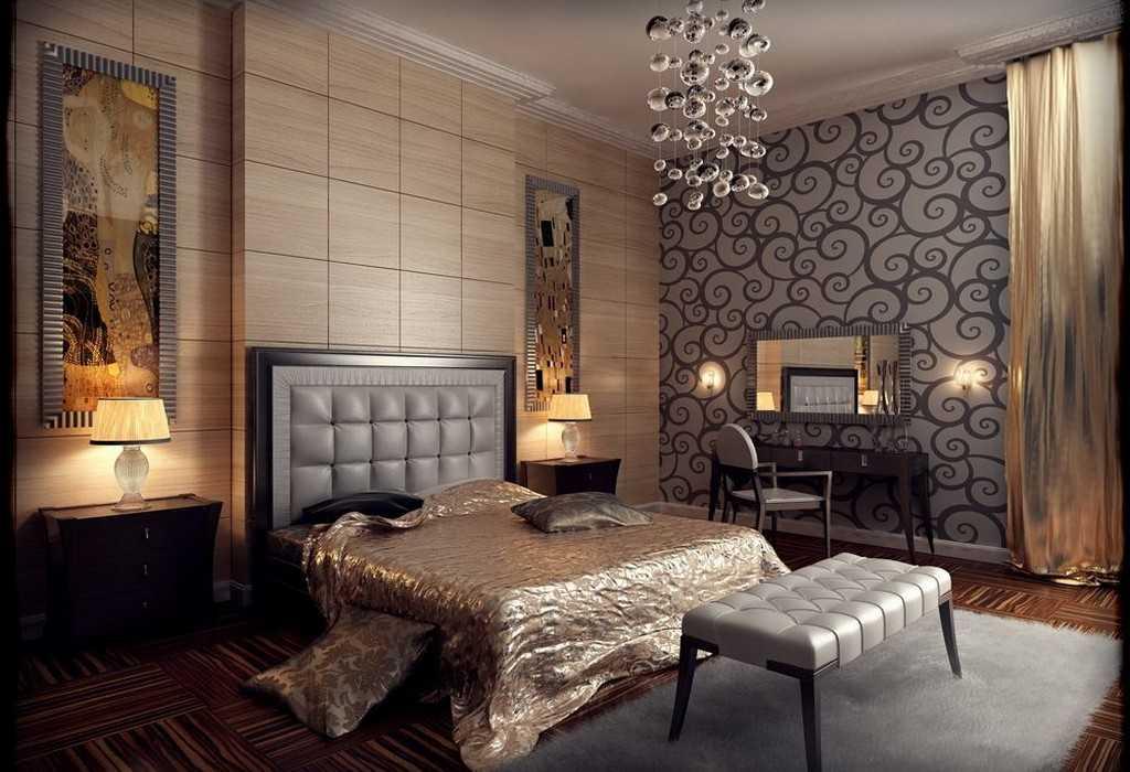 Стиль арт-деко в интерьере (90+ фото) | особенности дизайна | оформление отделки, декора, мебели ар-деко