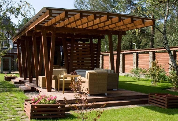 Крыша для беседки: чем покрыть, варианты кровли, инструкция, фото – сад и огород своими руками