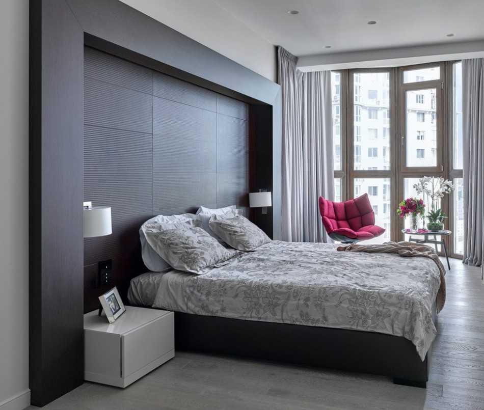 Спальня в нише - 5 дизайнерских решений с фото