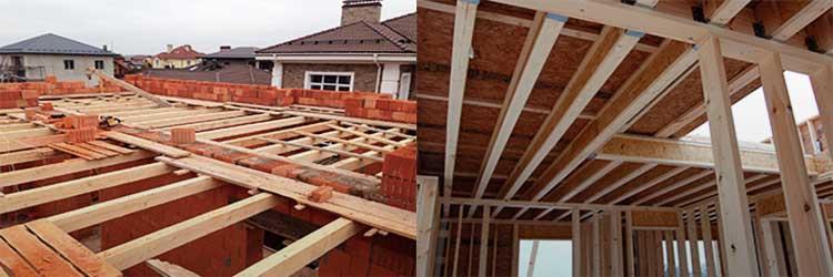 Утепление межэтажных перекрытий – по деревянным балкам и плитам