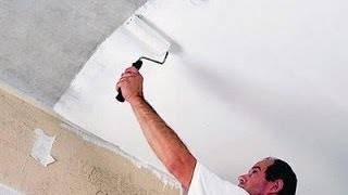 Как и чем лучше белить потолок своими руками?