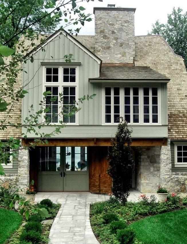 Фасад дома - как сделать красиво и стильно? 110 фото новинок дизайна