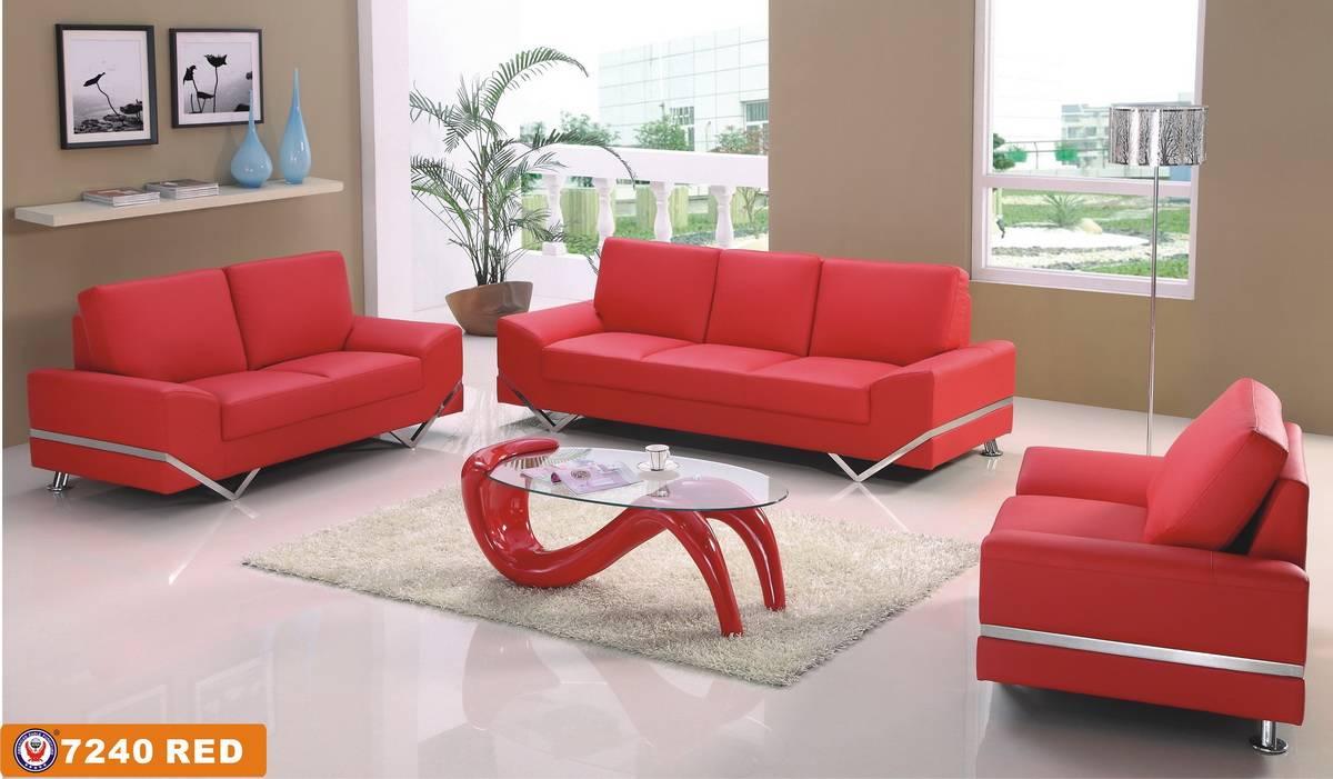Красный диван в интерьере: 100 потрясающих фото и идей оформления