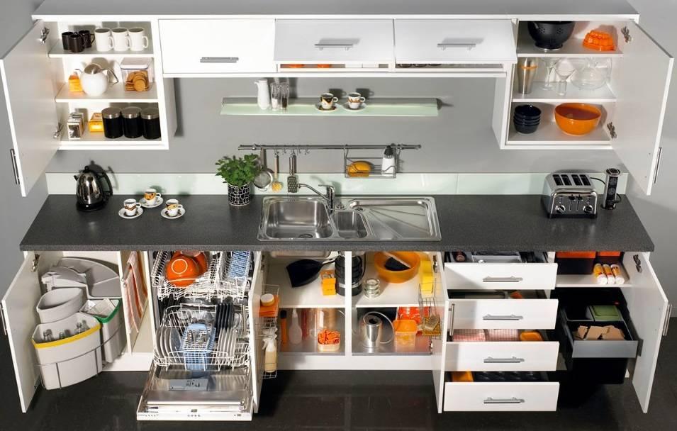 Порядок в кухонных шкафах: идеи организации и наведения порядка, места хранения
