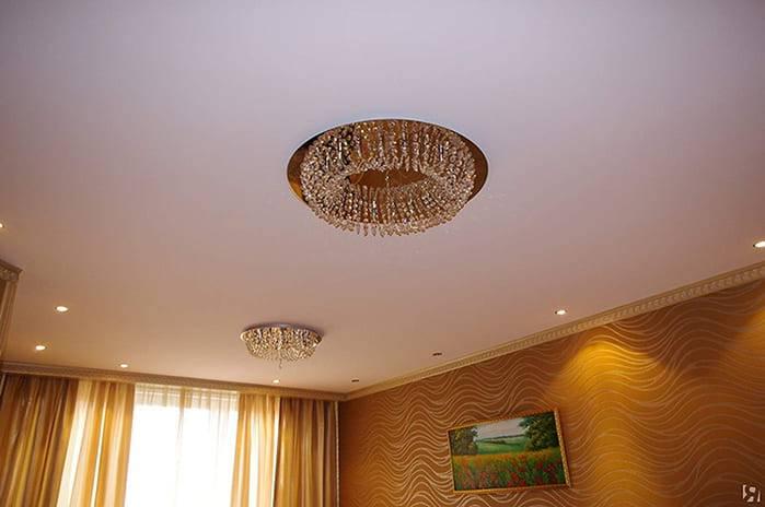 Как натянуть тканевый потолок своими руками, правильно сделать монтаж, какой материал выбрать, фото и видео примеры