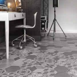 Шестигранная напольная плитка: плитка «соты» и «шестигранник» на пол, шестиугольные изделия производителя kerama marazzi