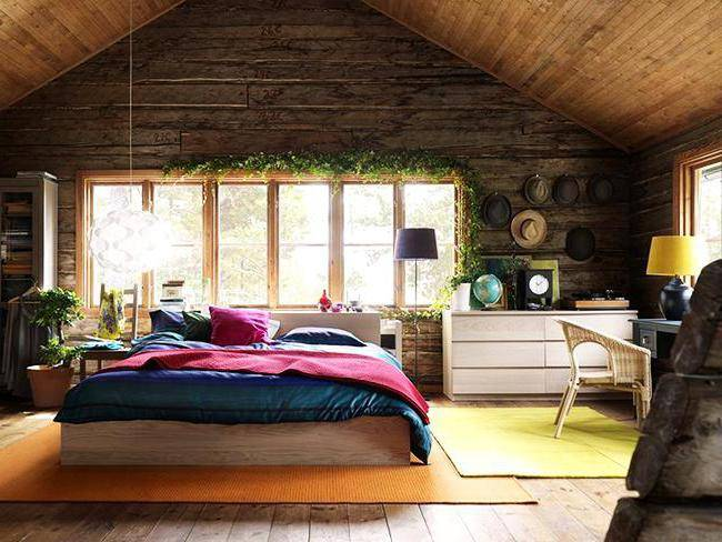 Покраска стен деревянного дома внутри и снаружи