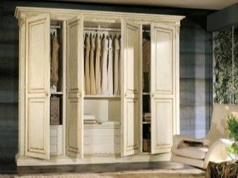 Шкаф в классическом стиле, особенности, разнообразие формы и цвета